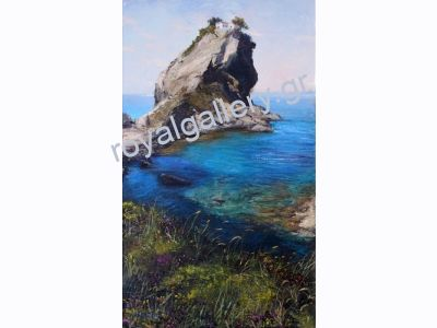 OIL PAINTING BY PAINTER ASPROGIANNIS  30x50 [2]