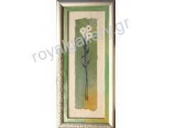 REPRODUCTION ART 34X79 FLOWERS -FROM 90.00 ONLY 45.00