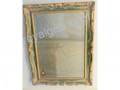 Woodcut frame with gold foil and grow-hand from Florentia 925