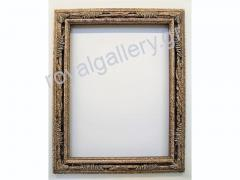 Woodcut frame with gold foil and grow-hand from Florentia 891