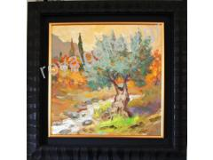 SIDERAS 50X50 OILPAINTING -FRAME 72X72