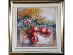 RIGOULIS 80X80 OILPAINTNG - CONTACT US FOR PRICE INFORMATION