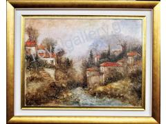 MARNEZOU 82X102 WITH FRAME OILPAINING